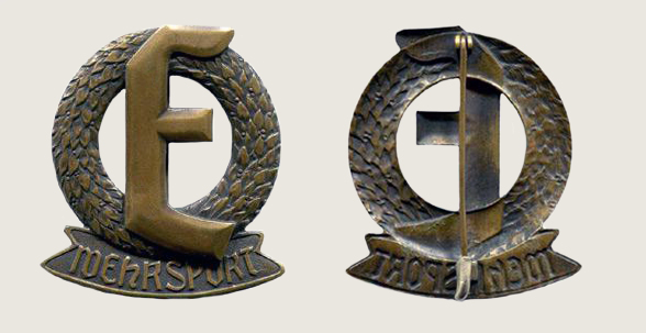 Military Sports Badge of 2 Marine Brigade Ehrhardt 01