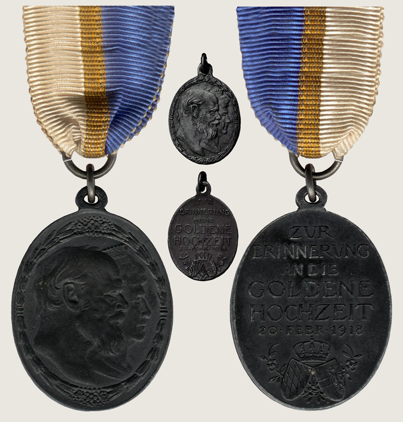 Golden Wedding Jubilee Medal 1