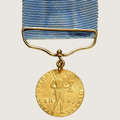 Waterloo Battle Honorary Ducat main