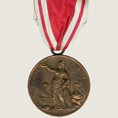 City Fire 1842 Relief Action Medal main