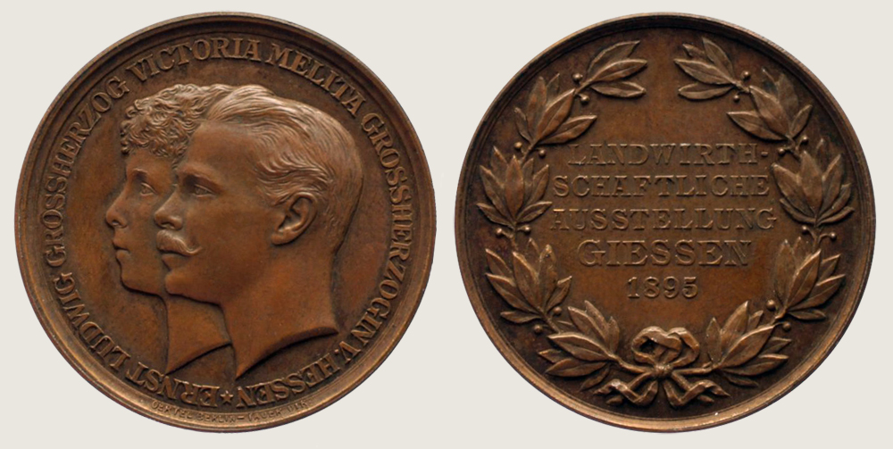 Medal of Giessen Agricultural Exhibition 1
