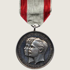Wedding Commemorative Medal main