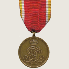 Commemorative Medal for the 1866 Military Campaign main