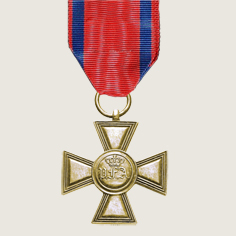 Honour Cross for 25 Years Service main