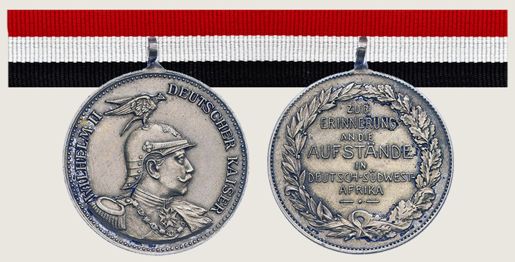 Commemoration Medal of Uprisings in German South West Africa 01