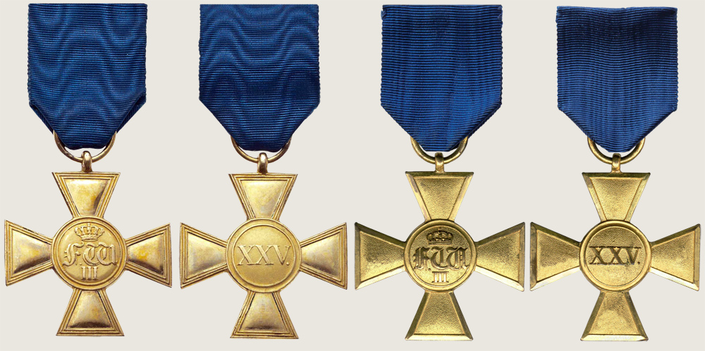 Long Service Award for Officers 1