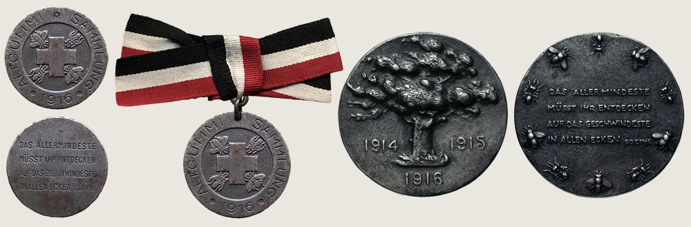 Medal for Scrap Rubber Collection 1