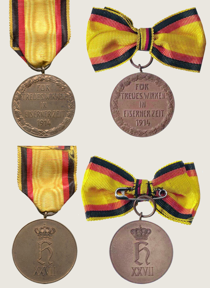 Medal for Selfless Labour During the War 1