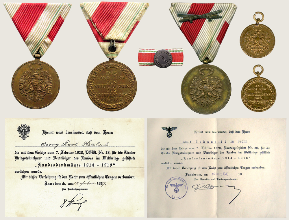 Provincial Commemorative Medal 1914 1918