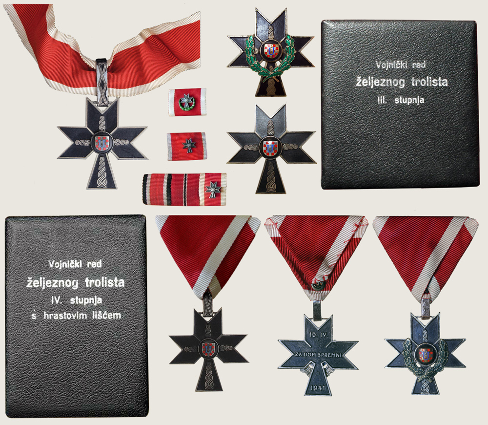 Military Order of Iron Trefoil 1