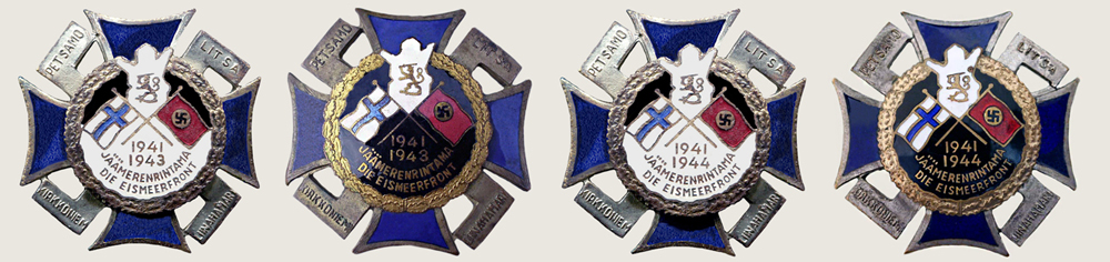 Finnish crosses Plate 3
