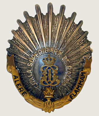 Military High School Badge