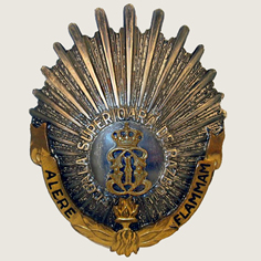 Military High School Badge main