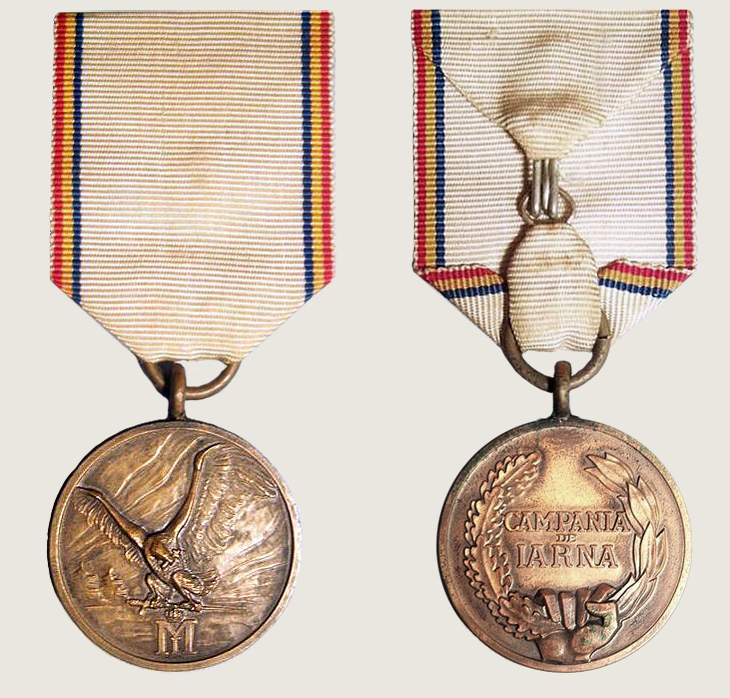 Military Medal Winter Campaign 1