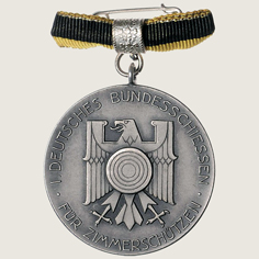 1st Stuttgart Indoor Shooting Festival Commemorative Medal main