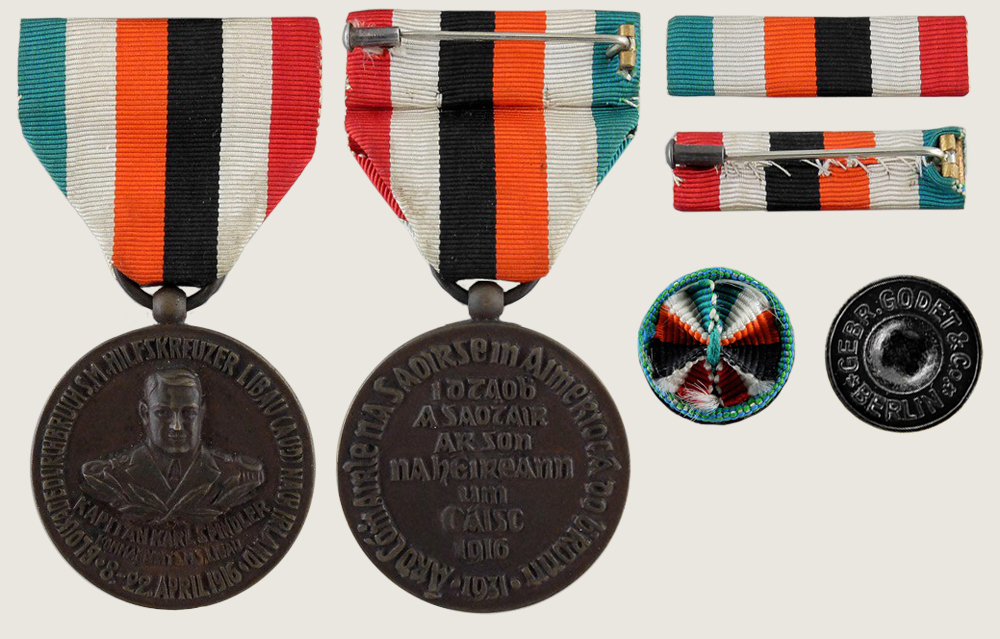 Captain Karl Spindler Commemorative Medal 1