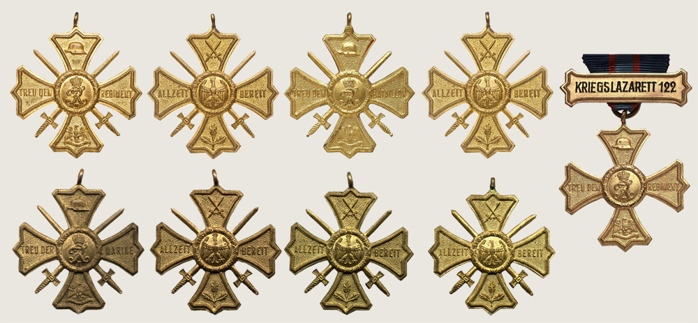 Regimental Commemorative Cross 1