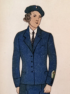 Uniform for personnel of Soviet Red Cross 1936 main