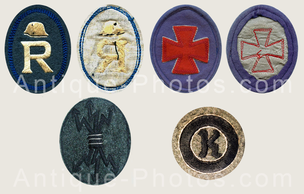 Stahlhelm Sleeve Badges 6