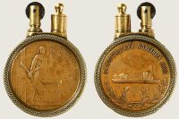 Third Anniversary of Great October Socialist Revolution Medal 2