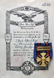 Regimental Commemorative Cross 4 3